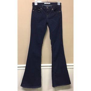 J Brand Babe Flare Leg Stretch Jeans Size 25